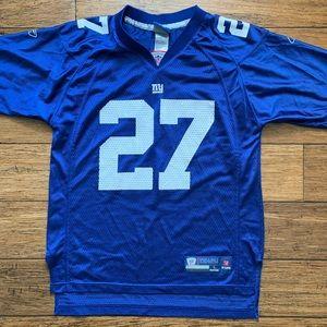 NY Giants Jacobs 27 Football Jersey
